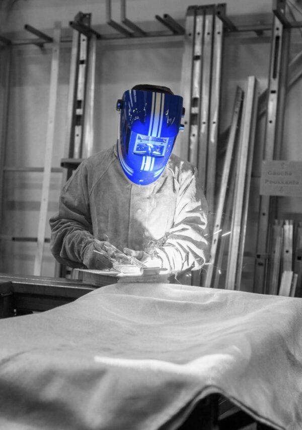 Maschera auto oscurante - RACING BLUE S4