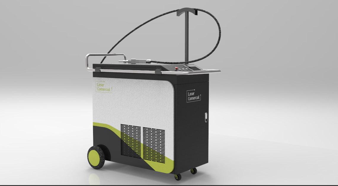 Saldatrice laser